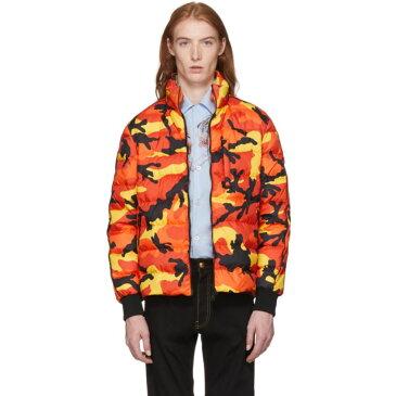 ヴァレンティノ メンズ アウター ダウン・中綿ジャケット【Orange Camo Down Jacket】