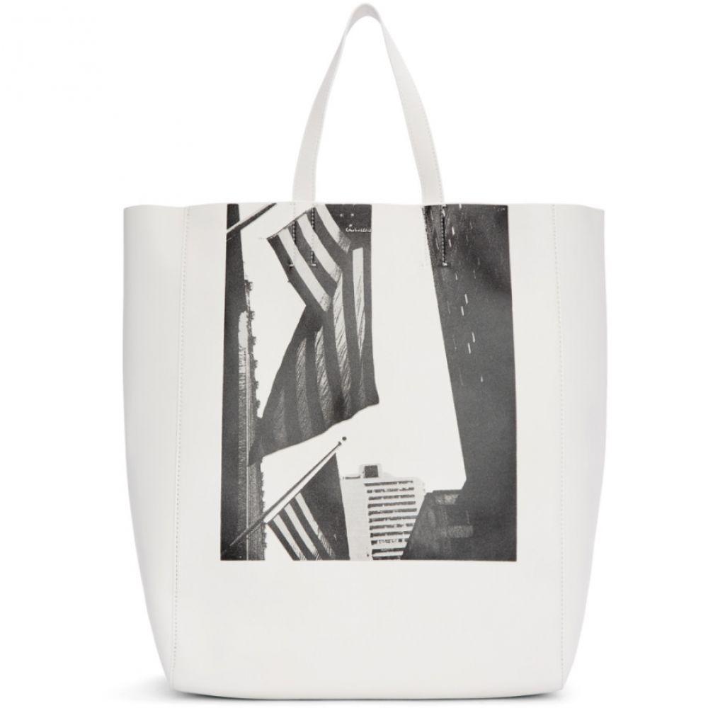 a59ccf6b5da7 カルバンクライン メンズ バッグ トートバッグ【White Soft Andy Warhol Tote】 カルバンクライン メンズ バッグ トートバッグ  【サイズ交換無料】