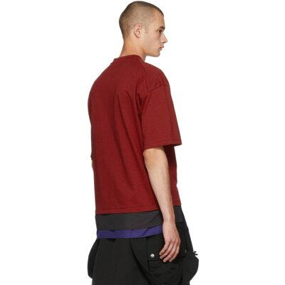 80ca54256 オールモストブラック メンズ トップス Tシャツ【Red Flower T-Shirt ...