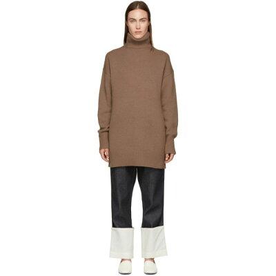 c8d4b298f12cf ジョゼフ Joseph レディース ワンピース·ドレス ワンピース Brown Wool ...
