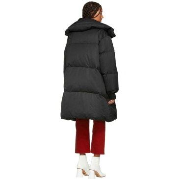 メゾン マルジェラ MM6 Maison Martin Margiela レディース アウター ダウン・中綿ジャケット【Black Long Down Puffer Coat】