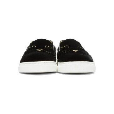 シャーロット オリンピア Charlotte Olympia レディース シューズ・靴 スニーカー【Black Velvet Kitty Sneakers】