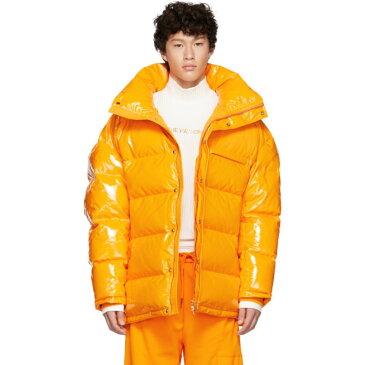 フェン チェン ワン Feng Chen Wang メンズ アウター ダウン・中綿ジャケット【Orange Down Puffer Jacket】