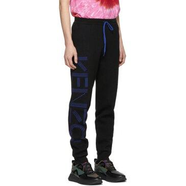 ケンゾー Kenzo メンズ ボトムス・パンツ スウェット・ジャージ【Black Knitted Lounge Pants】