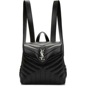 イヴ サンローラン Saint Laurent レディース バッグ バックパック・リュック【Black Small Loulou Backpack】