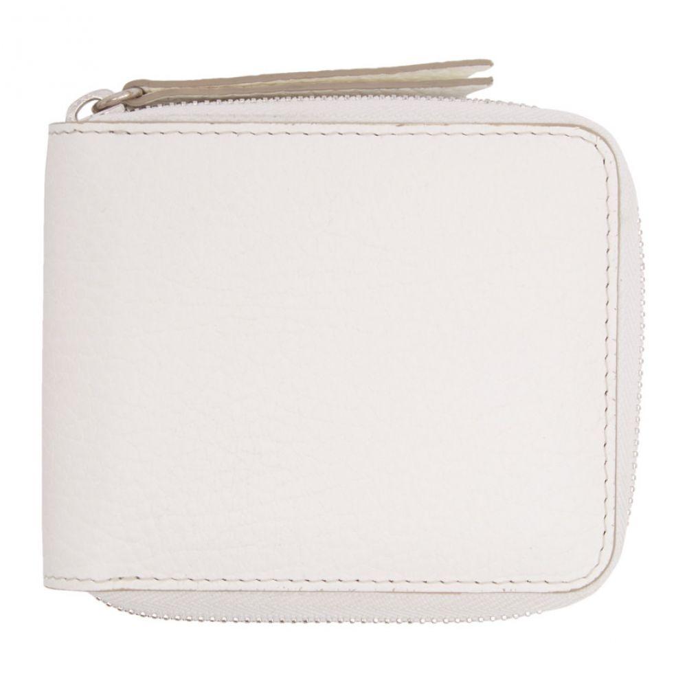 a9cf05d706c5 ... 財布 | White Portafoglio Zip Wallet | ONESIZE メゾン マルジェラ レディース. 「メゾン マルジェラ(Maison  Margiela Fine Jewellery)」です。