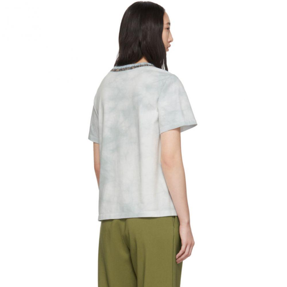 スリーワン フィリップ リム 3.1 Phillip Lim レディース トップス Tシャツ【Blue Tie-Dye T-Shirt】