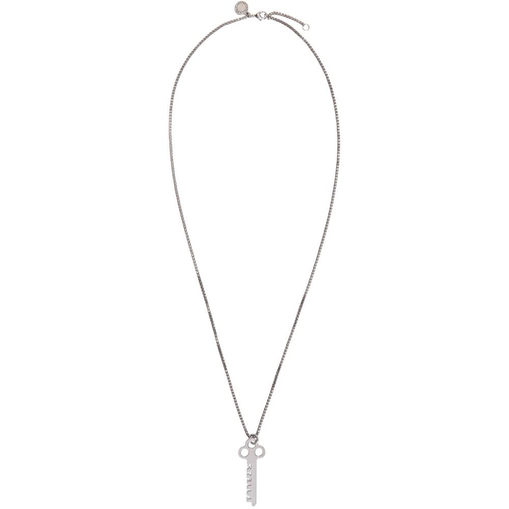 ステラ マッカートニー Stella McCartney メンズ アクセサリー ネックレス【Silver Key Necklace】