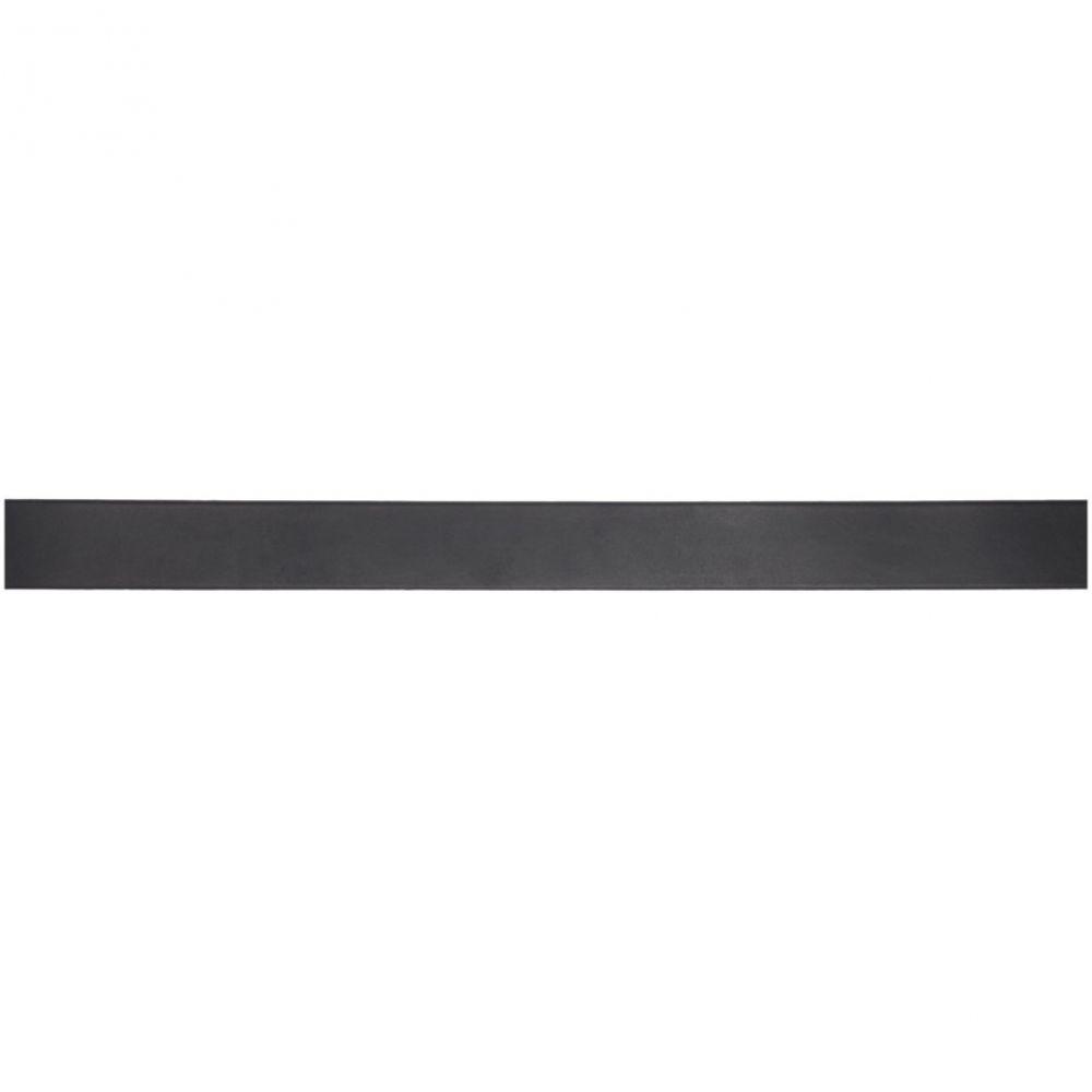 ディースクエアード Dsquared2 メンズ ベルト【Black & Silver 'Icon' Belt】