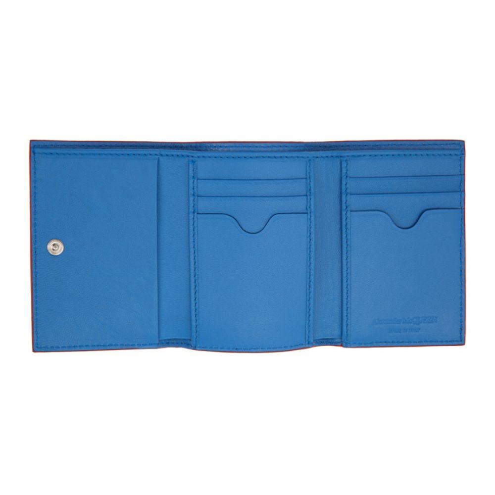 アレキサンダー マックイーン Alexander McQueen メンズ 財布【Multicolor Paint Trifold Wallet】