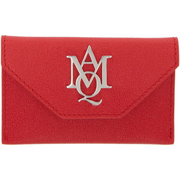 アレキサンダー マックイーン Alexander McQueen レディース アクセサリー カードケース【Red Insignia Envelope Card Holder】