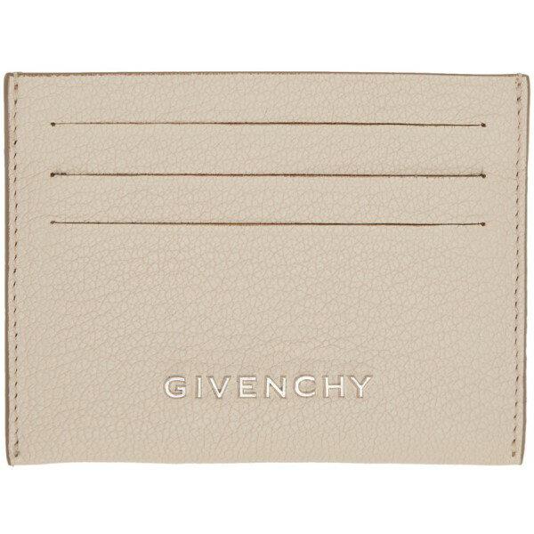 ジバンシー Givenchy レディース アクセサリー カードケース【Beige Pandora Card Holder】