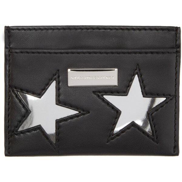 ステラ マッカートニー Stella McCartney レディース アクセサリー カードケース【Black Star Card Holder】