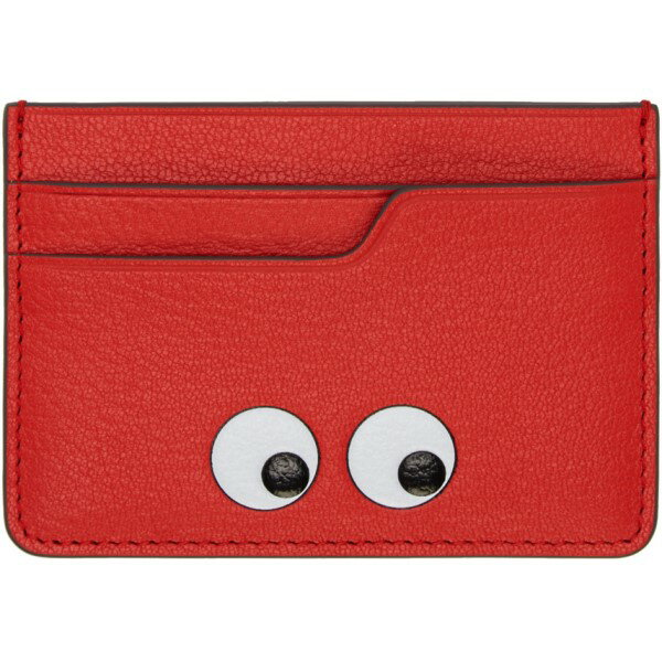 アニヤ ハインドマーチ Anya Hindmarch レディース アクセサリー カードケース【Red Eyes Card Holder】