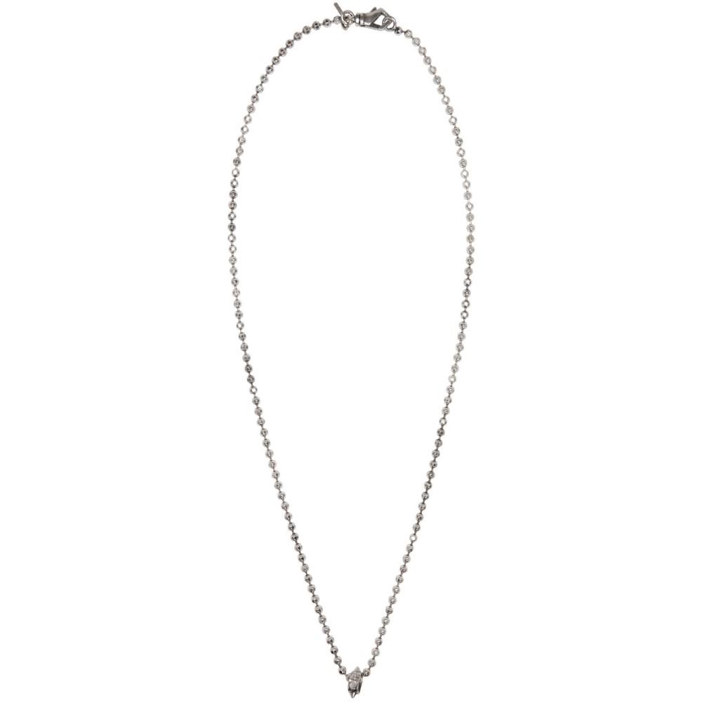 エマニュエレ ビコッキ Emanuele Bicocchi メンズ アクセサリー ネックレス【Silver Disco Chain Necklace】