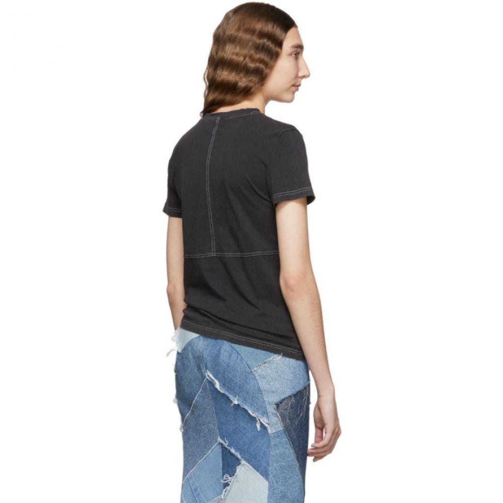 アクネ ストゥディオズ Acne Studios レディース トップス Tシャツ【Black Wanda T-Shirt】