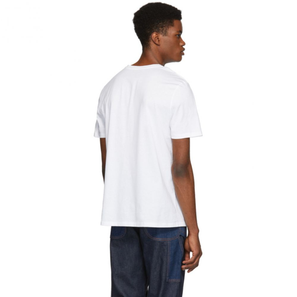アーペーセー A.P.C. メンズ トップス Tシャツ【White 'Dolls Of Hell' T-Shirt】