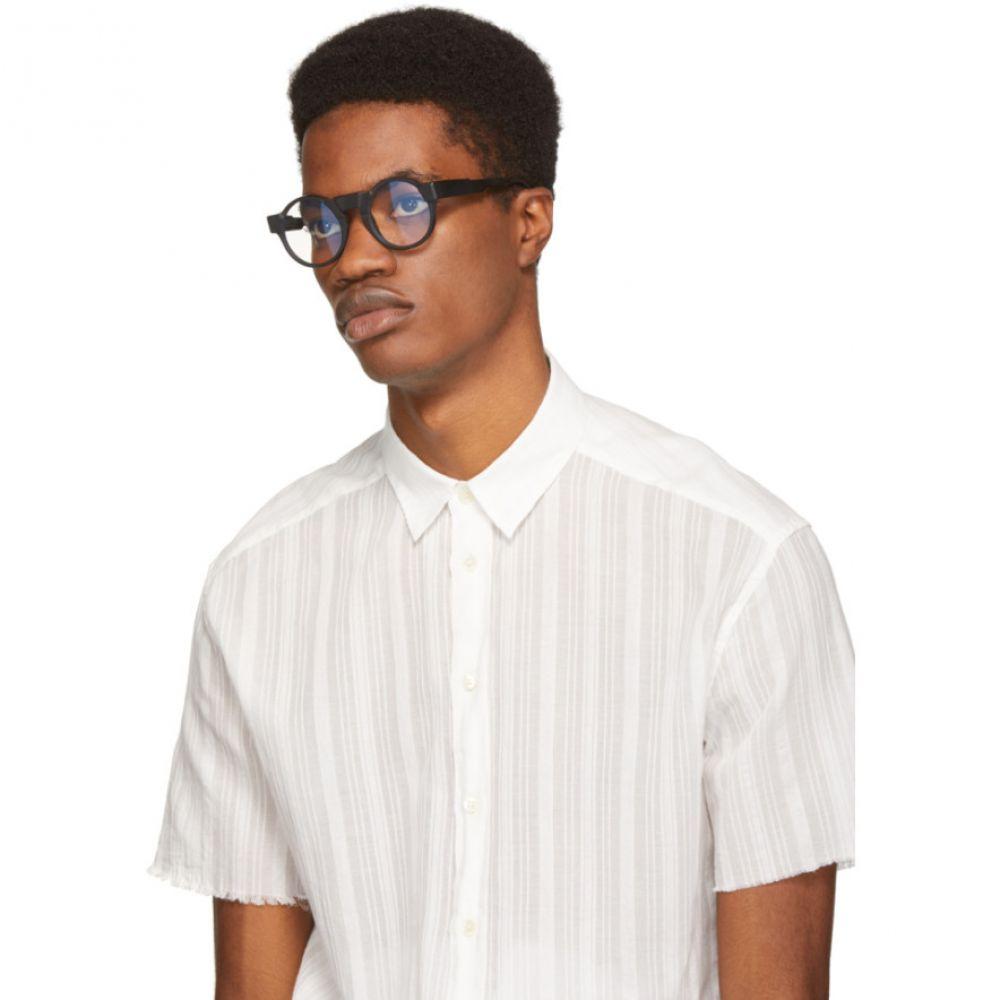 クボラム Kuboraum メンズ メガネ・サングラス【Black K10 BM-O Glasses】
