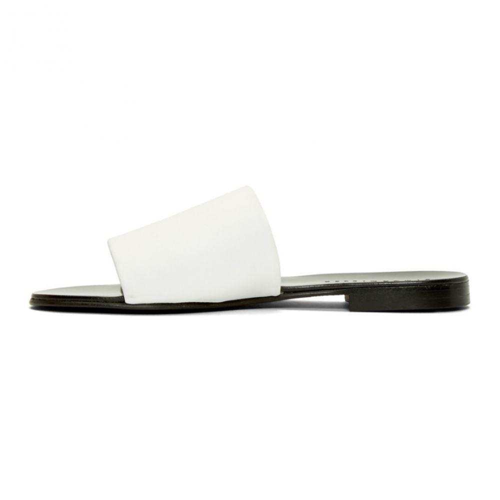 サイモンミラー Simon Miller レディース シューズ・靴 サンダル・ミュール【White Slice Slides】