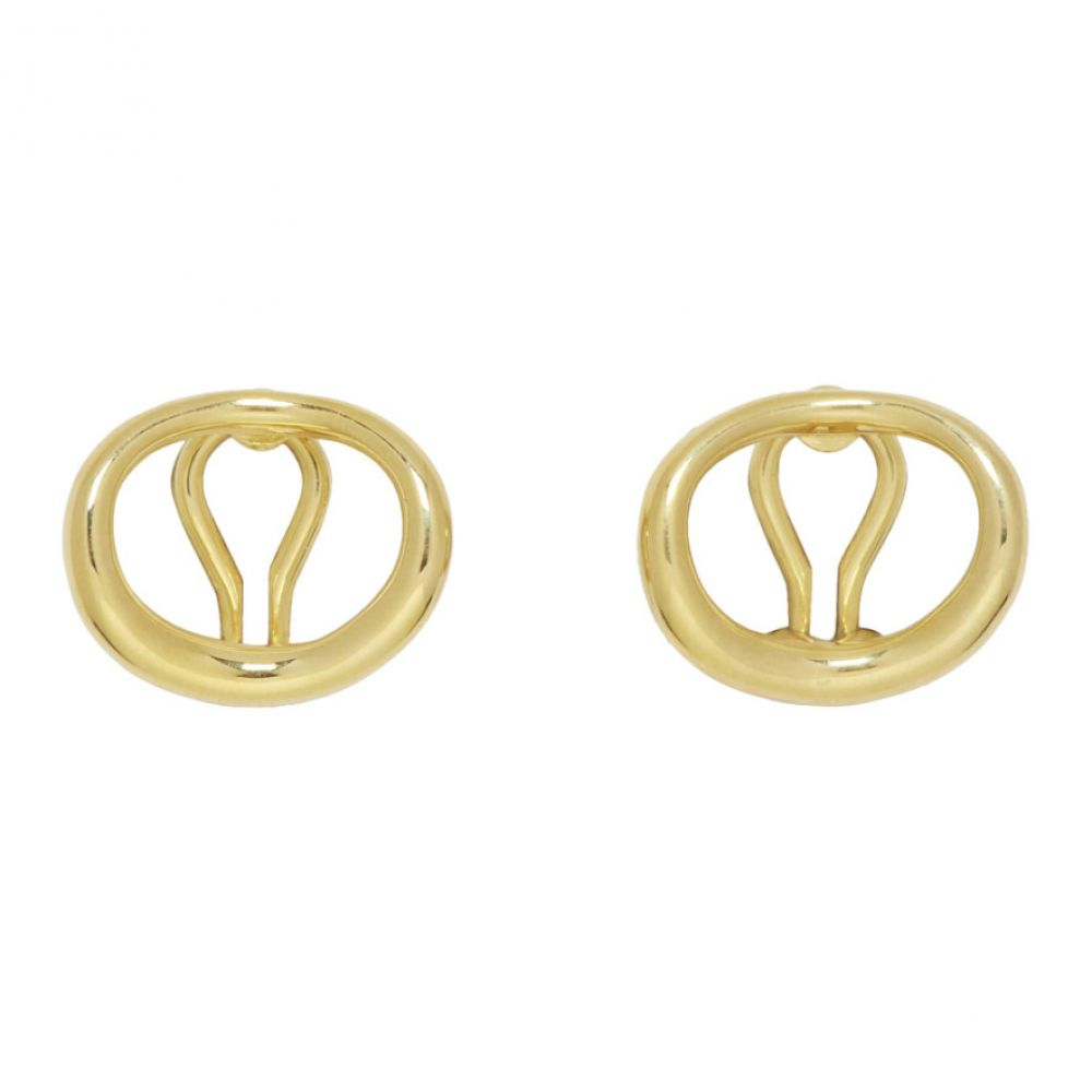 シャーロットチェスネス Charlotte Chesnais レディース ジュエリー・アクセサリー イヤリング・ピアス【Gold Naho Clip-On Earrings】