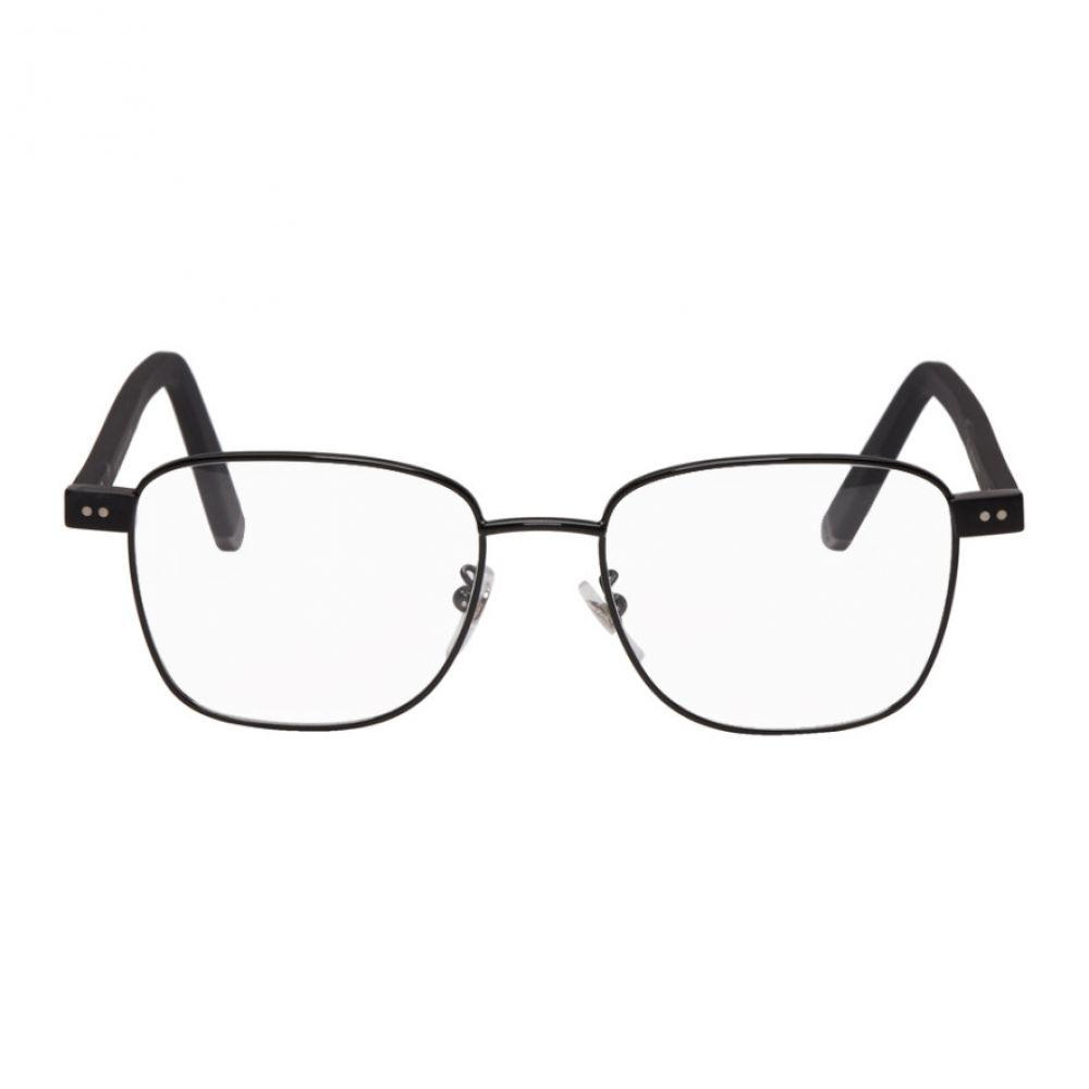 スーパー Super メンズ メガネ・サングラス【Black Numero 46 Glasses】