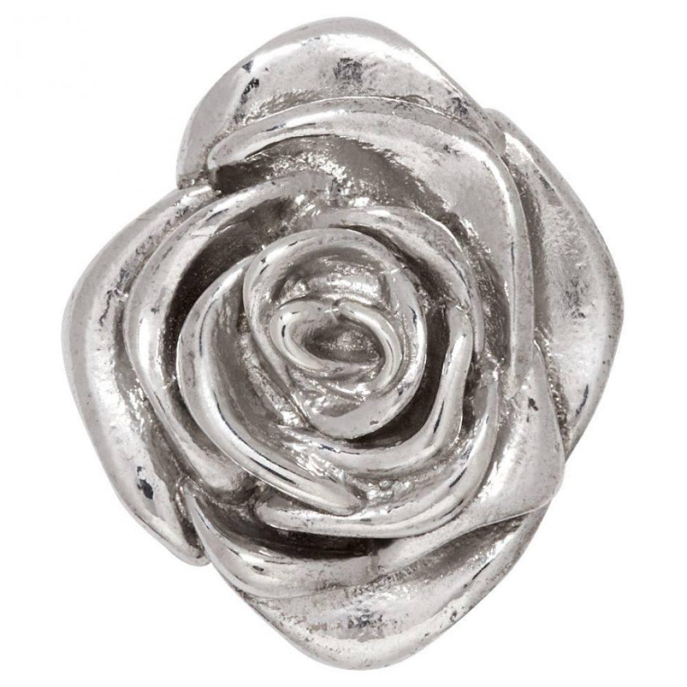 アラン クロセッティ Alan Crocetti レディース ジュエリー・アクセサリー イヤリング・ピアス【Silver Rose Ear Cuff】