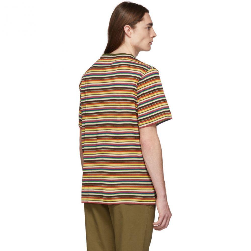ミッソーニ Missoni メンズ トップス Tシャツ【Multicolor Stripe T-Shirt】