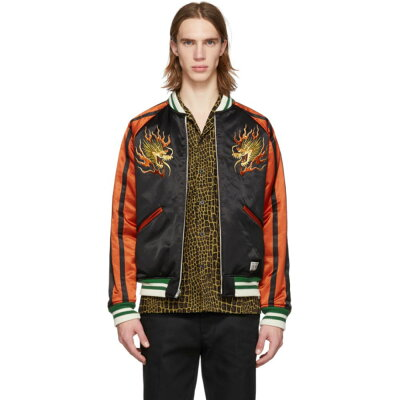 ワコマリア Wacko Maria 【Reversible Multicolor Ska Bomber Jacket】
