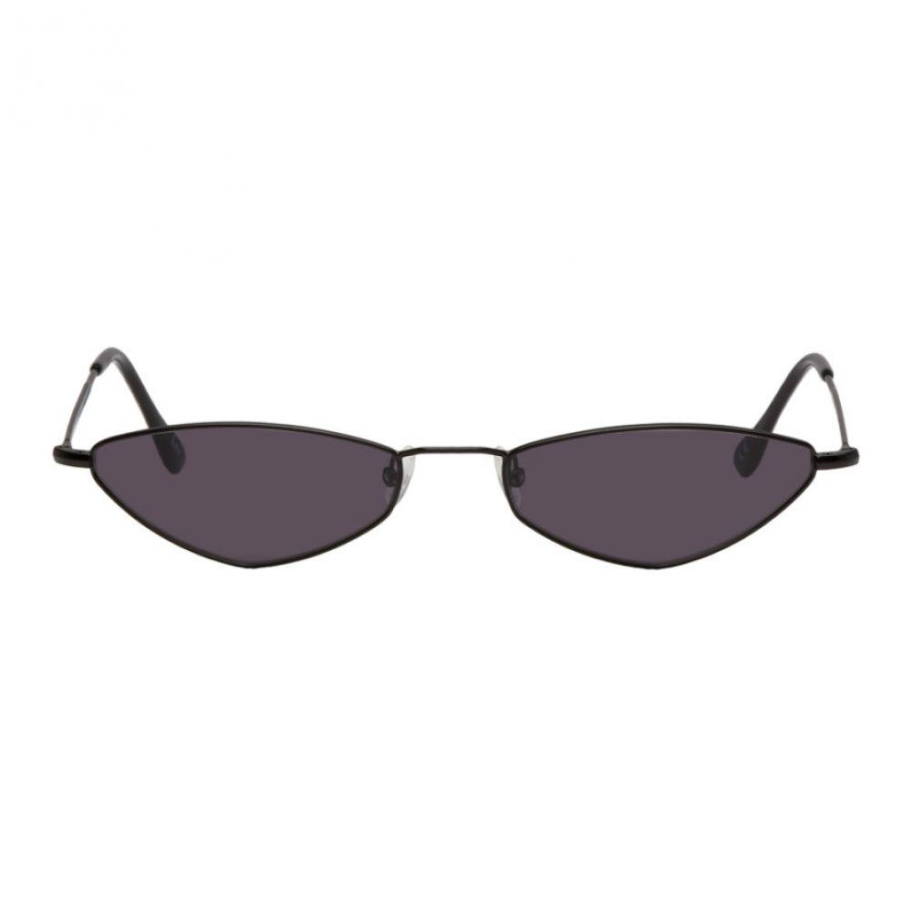 アンディ ウルフ Andy Wolf レディース メガネ・サングラス【Black Eliza Sunglasses】