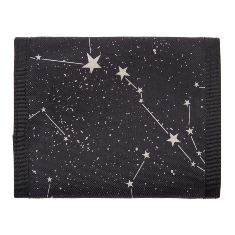 イヴ サンローラン Saint Laurent メンズ 財布【Black Orion Constellation Compact Wallet】