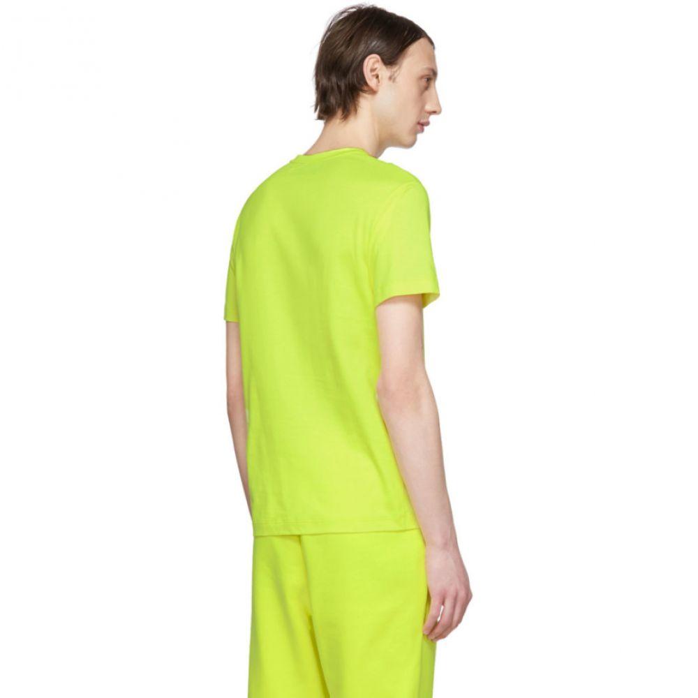 エープランアプリケーション A_Plan_Application メンズ トップス Tシャツ【Yellow Jersey T-Shirt】