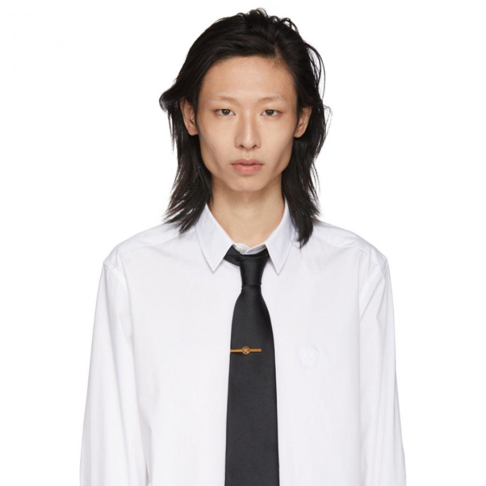 ヴェルサーチ Versace メンズ ネクタイピン【Gold Medusa Tie Pin】