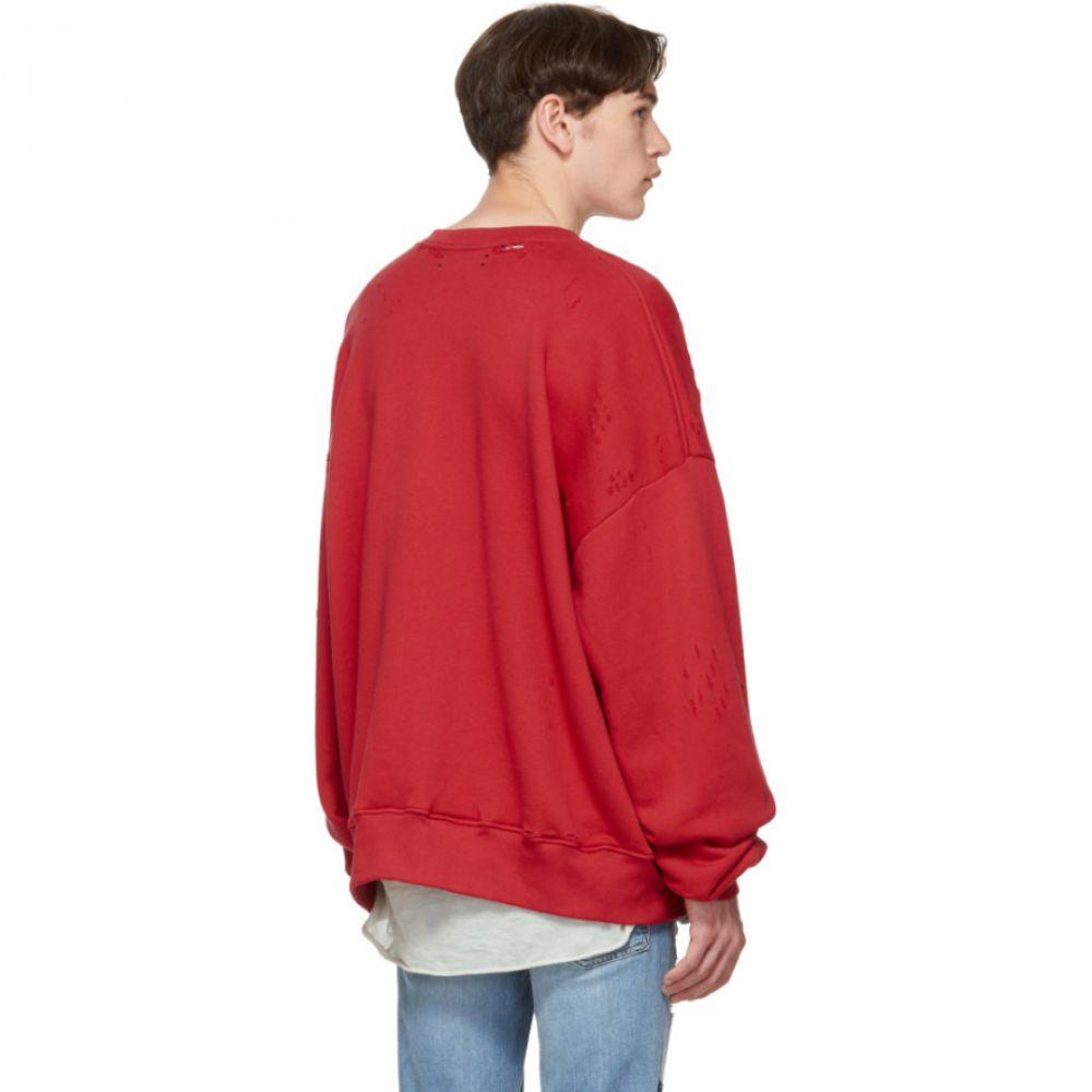 アミリ Amiri メンズ トップス スウェット・トレーナー【Red City Dragon Sweatshirt】