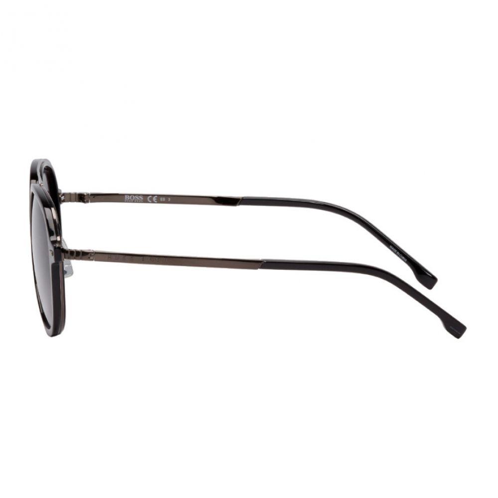 ヒューゴ ボス Boss メンズ メガネ・サングラス【Black & Gunmetal 1055/S Sunglasses】