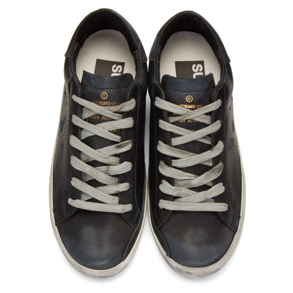 ゴールデン グース Golden Goose レディース シューズ・靴 スニーカー【Black Superstar Sneakers】Black