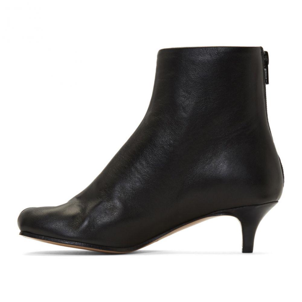 メゾン マルジェラ MM6 Maison Margiela レディース シューズ・靴 ブーツ【Black Toe Feature Boots】Black