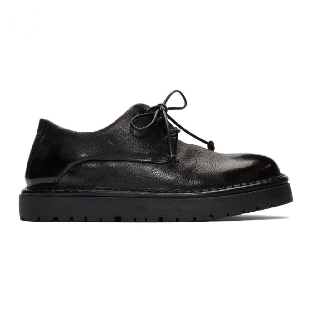 マルセル Marsell レディース シューズ・靴 ローファー・オックスフォード【Black Gomme Pallottola Derby Oxfords】Nero