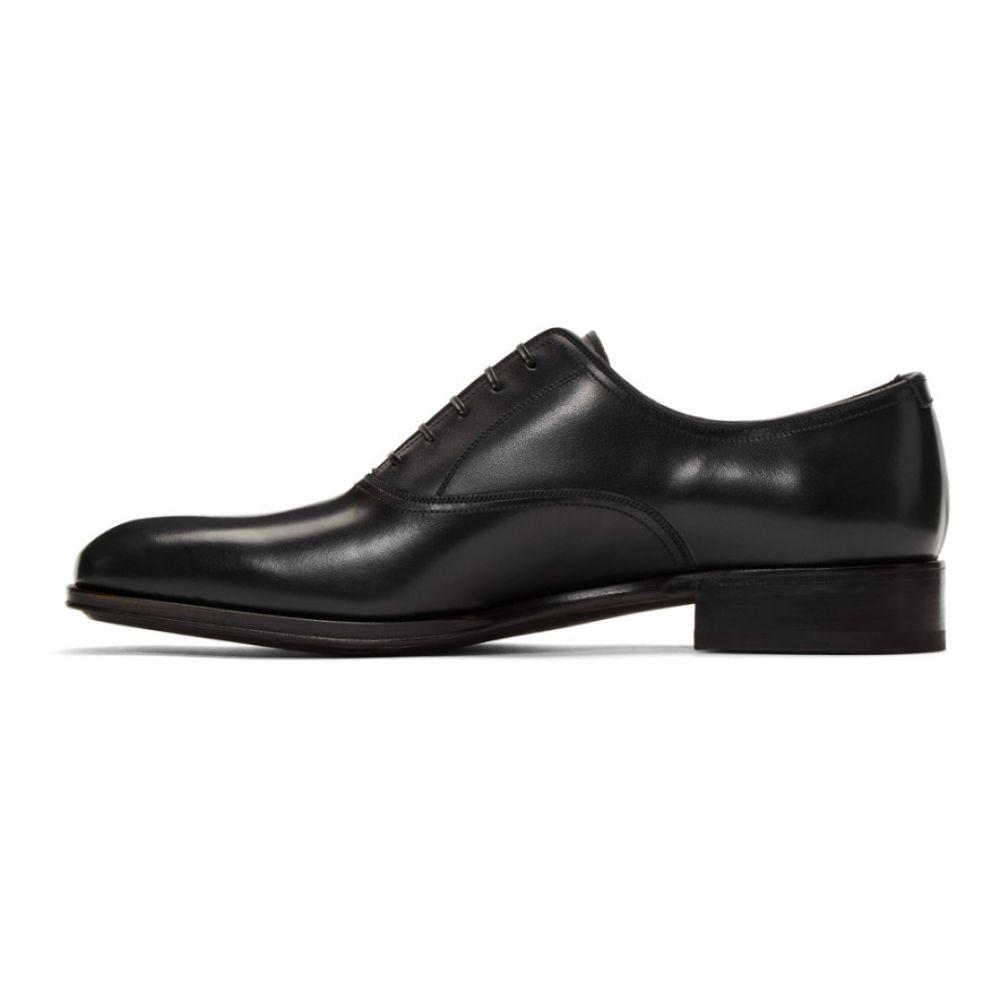 サルヴァトーレ フェラガモ Salvatore Ferragamo メンズ シューズ・靴 革靴・ビジネスシューズ【Navy Alfredo Oxfords】Dark blue/Nero