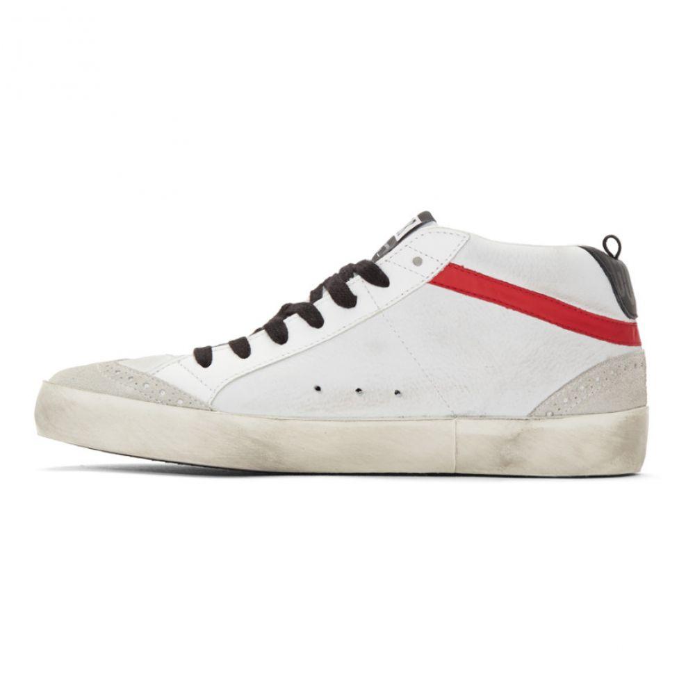 ゴールデン グース Golden Goose メンズ シューズ・靴 スニーカー【Grey & Black Nubuck Mid Star Sneakers】Ice/Black