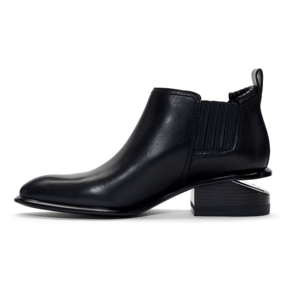 アレキサンダー ワン Alexander Wang レディース シューズ・靴 ブーツ【Black & Silver Kori Boots】Black