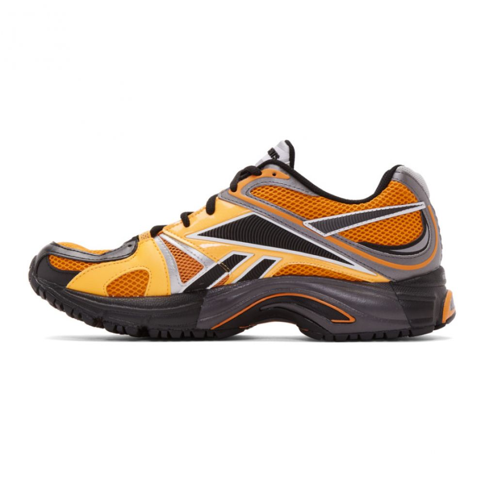 ヴェトモン VETEMENTS メンズ シューズ・靴 スニーカー【Orange Reebok Edition Spike Runner 200 Sneakers】Orange