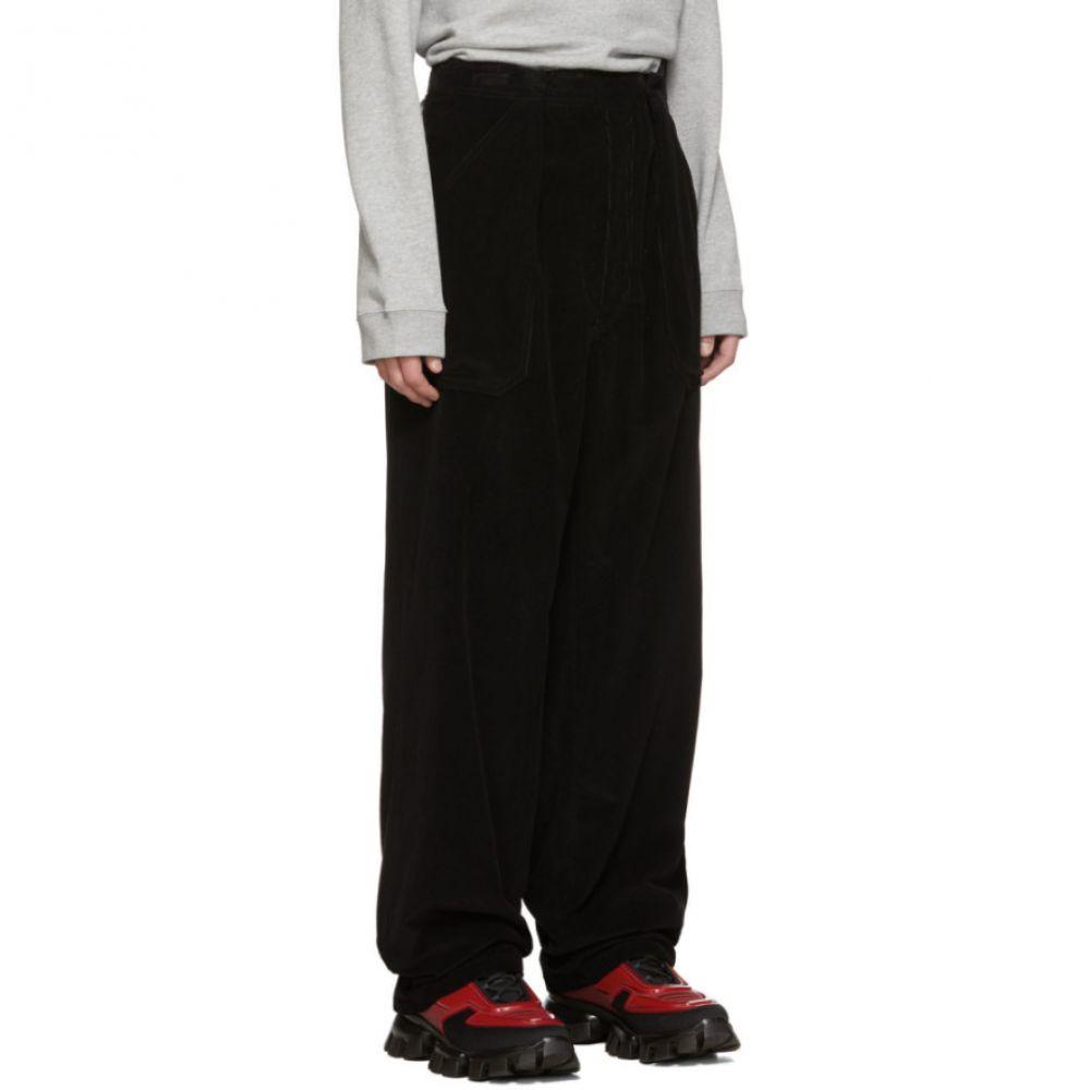 Dolce /& Gabbana Mens Black Corduroy Casual Pants US 30 IT 46
