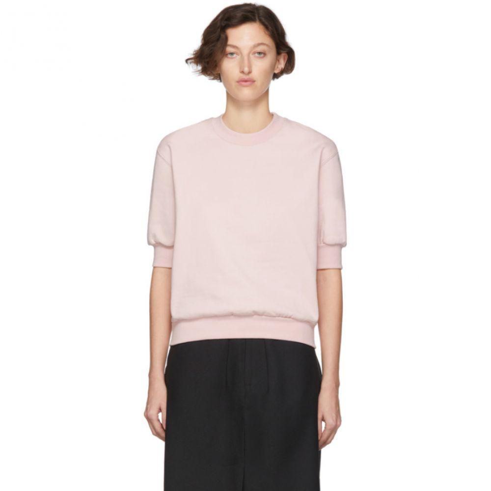 ランダム アイデンティティーズ Random Identities レディース スウェット・トレーナー トップス【Pink Side Zipped Sweatshirt】
