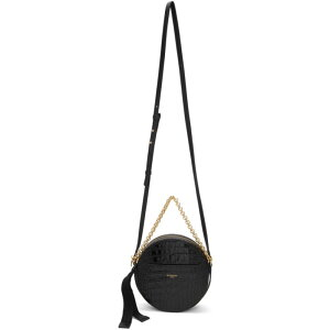 Givenchy Givenchy Ladies Shoulder Bag Bag [Black Croc Eden Round Bag] Black