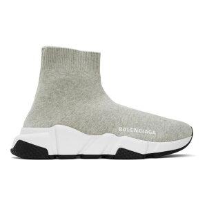 Balenciaga Women's Sneakers Shoes/Grey Speed Sneakers Gray/White