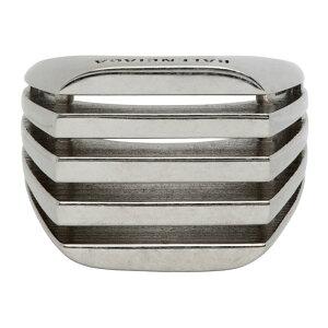 バレンシアガ Balenciaga メンズ 指輪・リング ジュエリー・アクセサリー【Silver Bone Ring】Silver