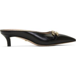 グッチ Gucci レディース サンダル・ミュール シューズ・靴【Black Zumi Heeled Mules】Nero