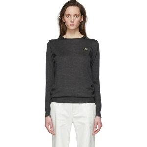 ロエベ Loewe レディース ニット・セーター トップス【Grey Cashmere Anagram Sweater】Grey