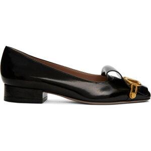 발렌티노 여성 슬리퍼 신발 / 신발 [블랙 가라 바니 VLogo Club 35 로퍼] 블랙