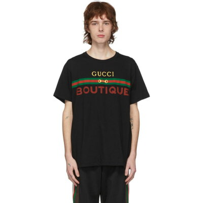 GucciのロゴメンズTシャツ